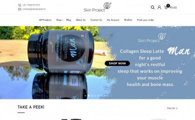 skinproject.co.in screenshot