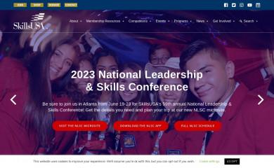 skillsusa.org screenshot