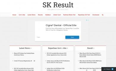 skresult.com screenshot