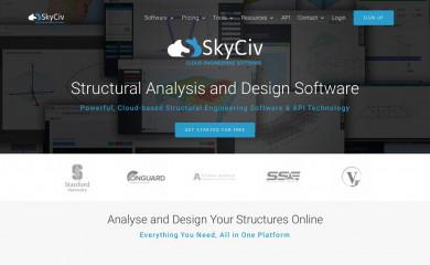 http://skyciv.com screenshot