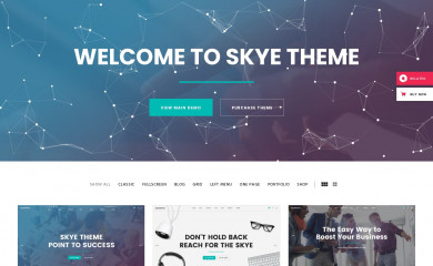 Skyetheme screenshot