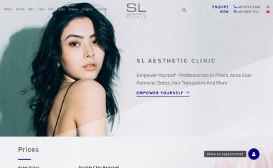 slclinic.com.sg screenshot