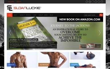 sloanluckie.com screenshot