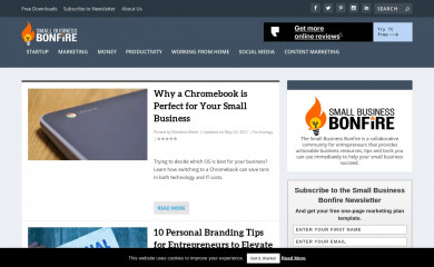 smallbusinessbonfire.com screenshot