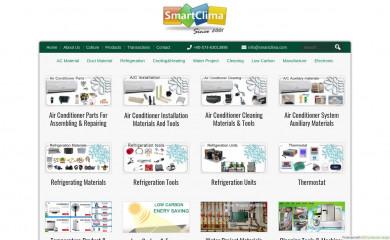 smartclima.com screenshot