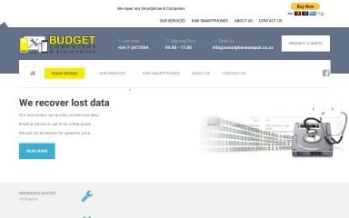 smartphonesrepair.co.nz screenshot