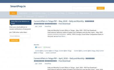 http://smartprep.in screenshot