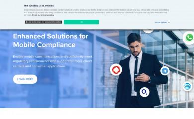smarsh.com screenshot