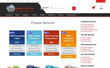 smmboosters.com screenshot