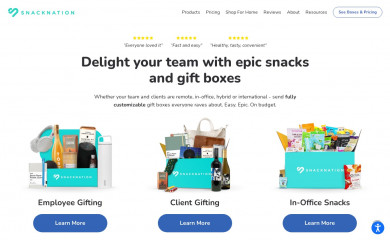 snacknation.com screenshot