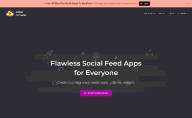 http://social-streams.com screenshot