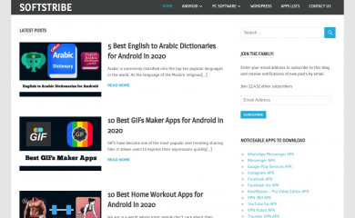 http://softstribe.com screenshot