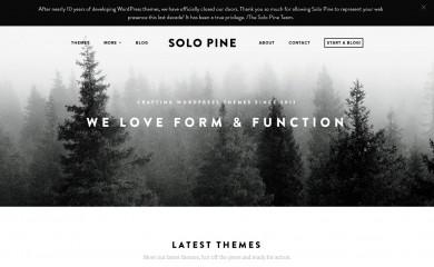 http://solopine.com/ screenshot