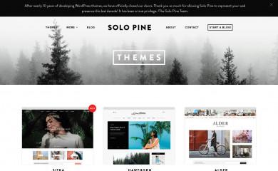 http://solopine.com/themes/ screenshot