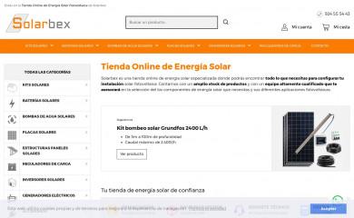 solarbex.com screenshot