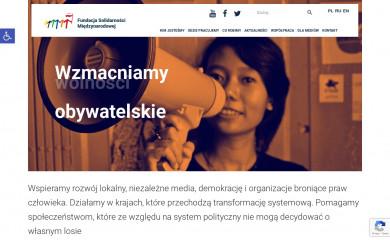 solidarityfund.pl screenshot