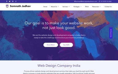http://somnathjadhav.com screenshot