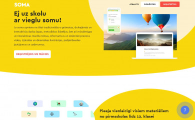 http://soma.lv screenshot