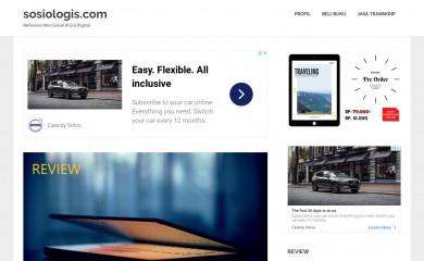 sosiologis.com screenshot