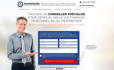 soumissionsplacement.ca screenshot