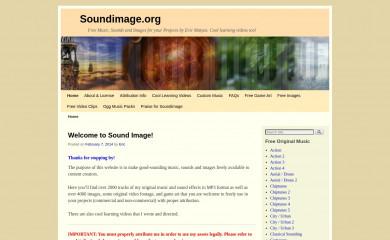 http://soundimage.org screenshot