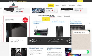 soundtowndubai.com screenshot