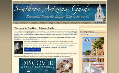 southernarizonaguide.com screenshot