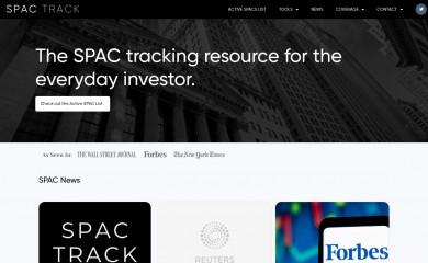 spactrack.net screenshot
