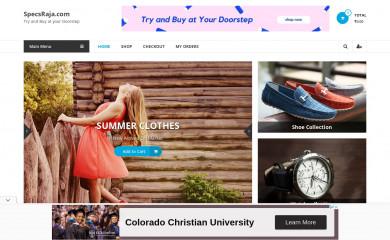 http://specsraja.com screenshot