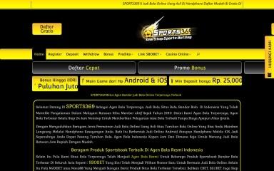 sports369.biz screenshot