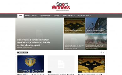 sportwitness.co.uk screenshot