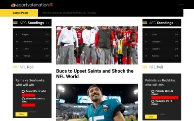 sportvotenation.com screenshot