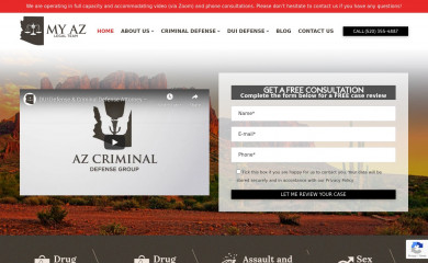 tucsoncrimelawyers.com screenshot