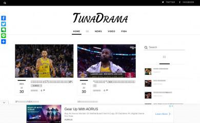 tunadrama.com screenshot