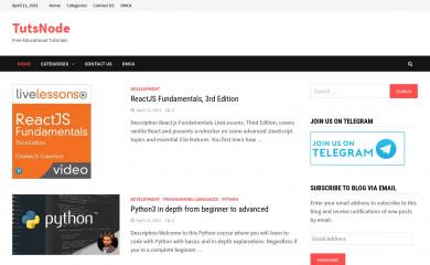 tutsnode.com screenshot