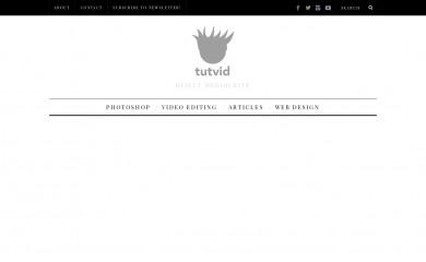 http://tutvid.com screenshot