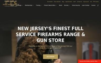 tacticaltrainingcenternj.com screenshot