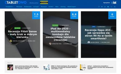 http://tabletowo.pl screenshot