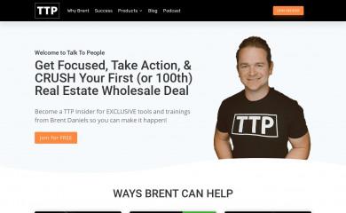 talktopeople.com screenshot