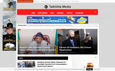 talkglitz.media screenshot