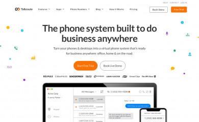 talkroute.com screenshot