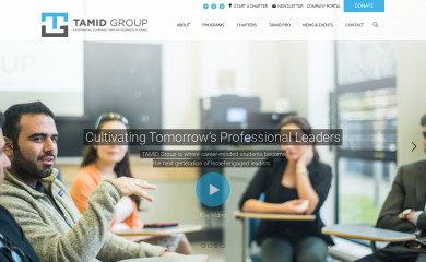 tamidgroup.org screenshot