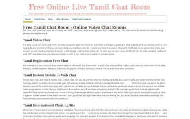 tamilfunchat.com screenshot