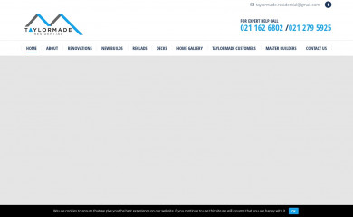 taylormaderesidential.co.nz screenshot