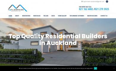 taylormaderesidential.co.nz screenshot