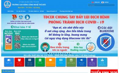 tdc.edu.vn screenshot
