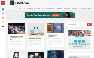techandall.com screenshot