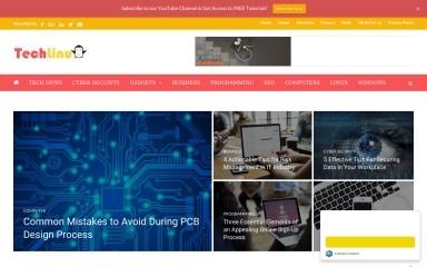 techlinu.com screenshot