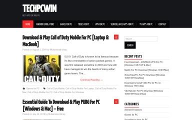 techpcwin.com screenshot