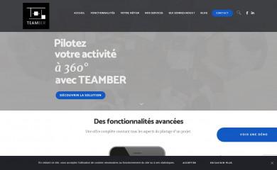 teamber.fr screenshot